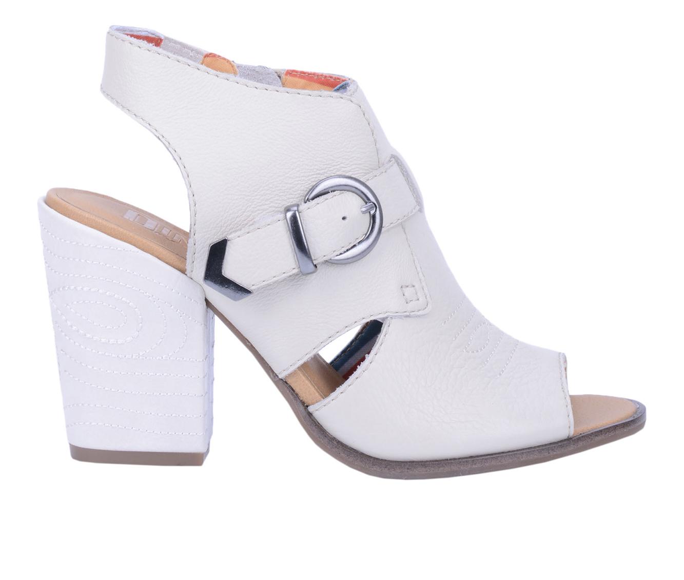 Dingo Boots Stirrup Women's Dress Shoe (White - Leather)