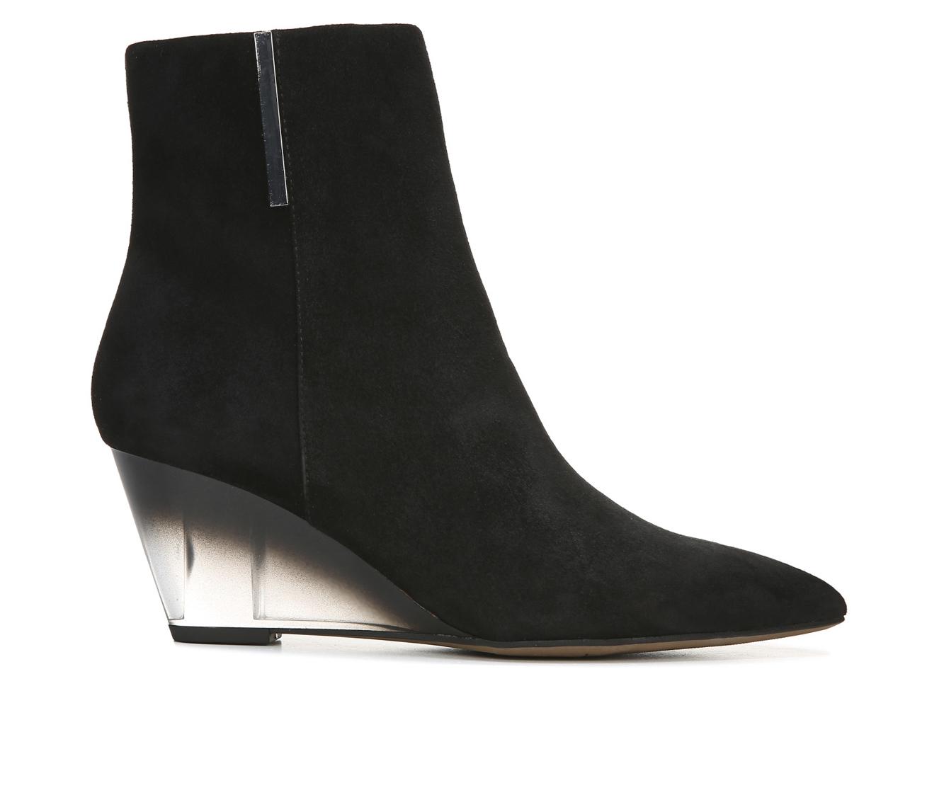 Franco Sarto Athens Women's Boot (Black Suede)