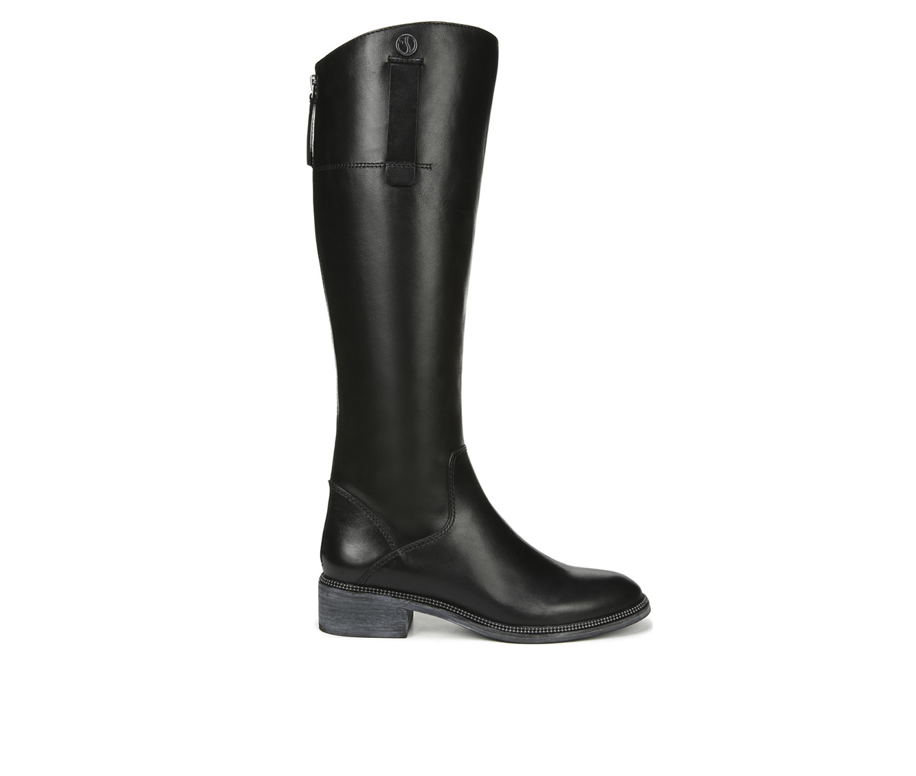 Franco Sarto Becky Women's Boot (Black Leather)