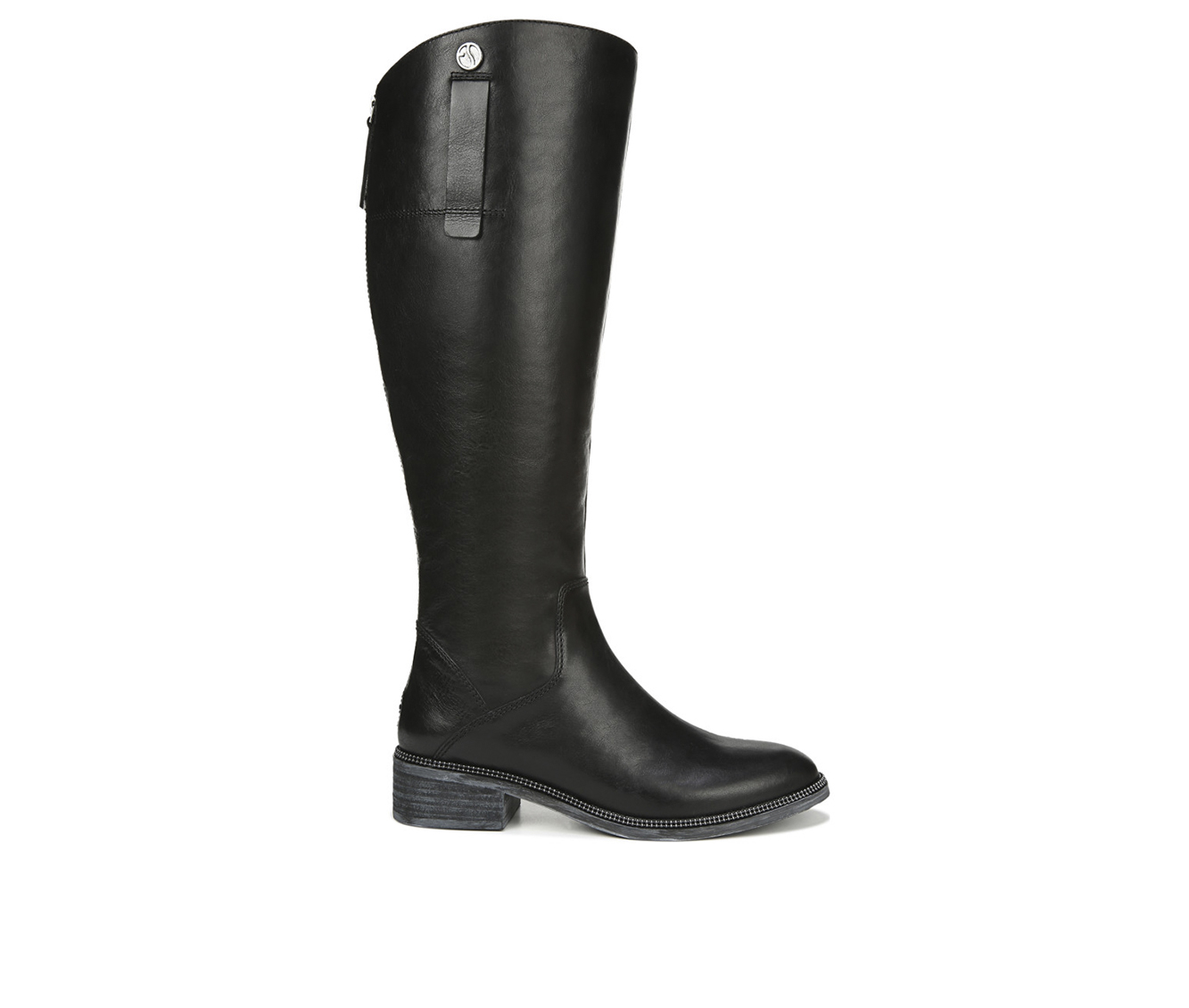 Franco Sarto Becky Wide Calf Women's Boot (Black Leather)