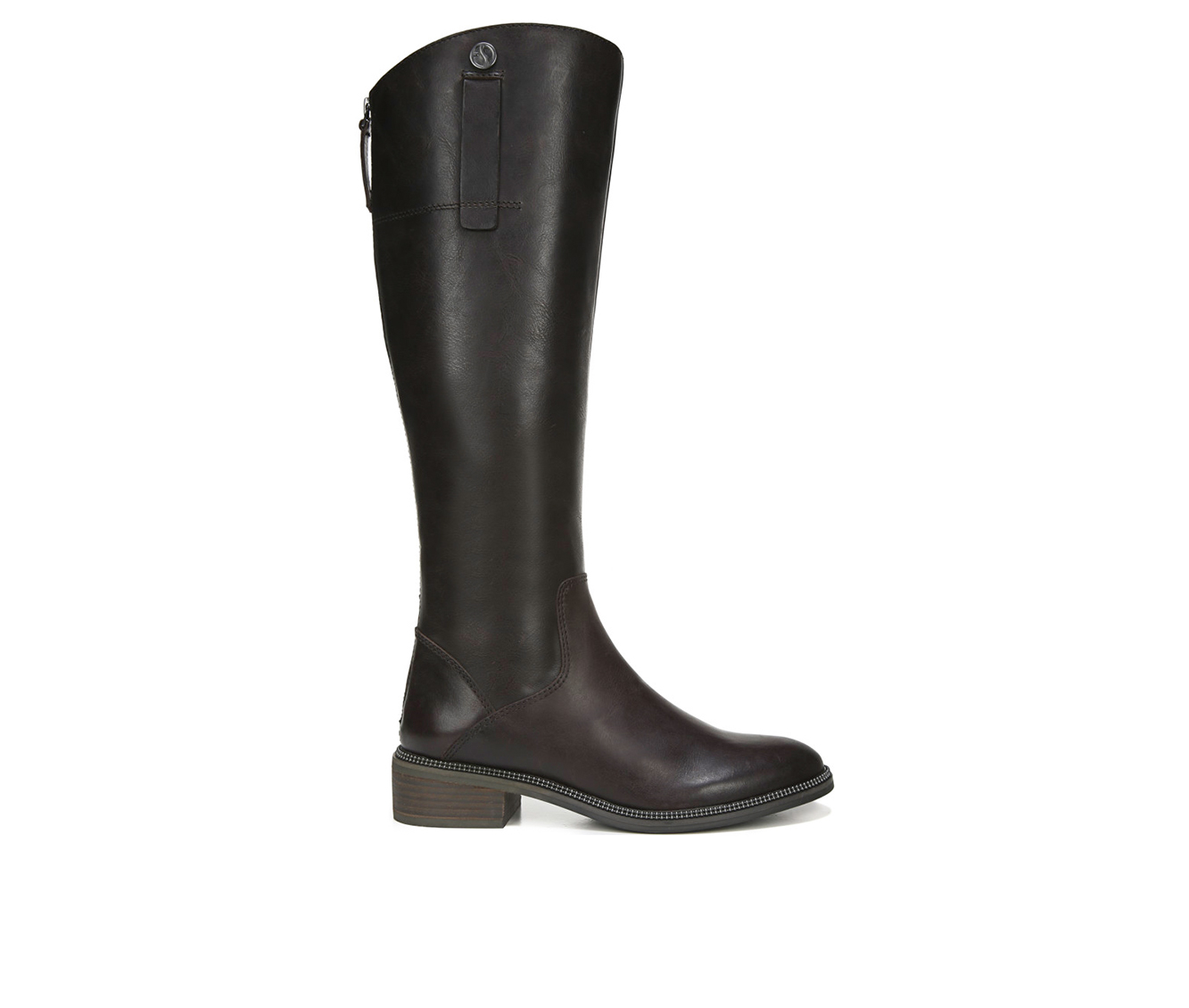Franco Sarto Becky Wide Calf Women's Boot (Brown Leather)