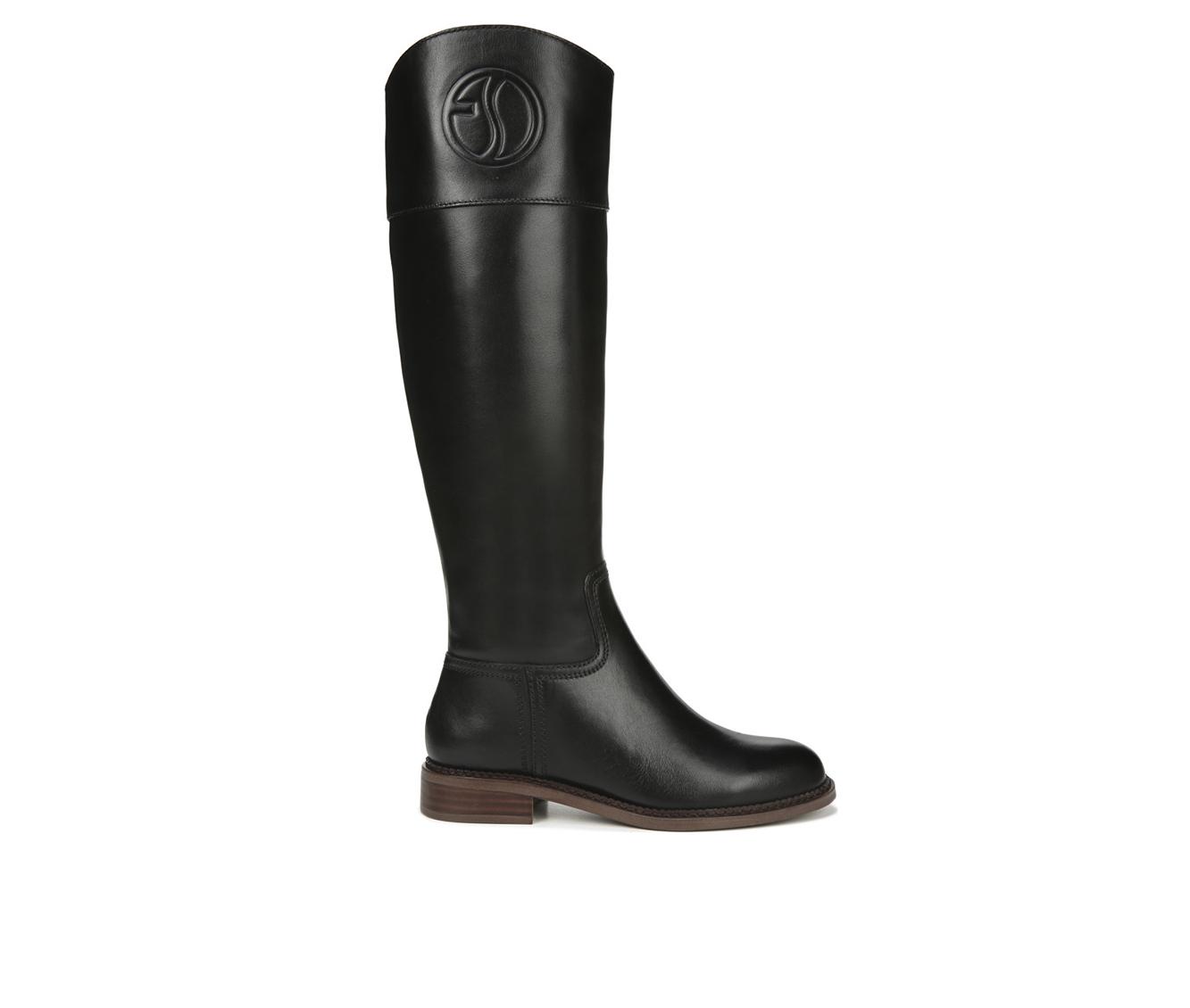 Franco Sarto Hudson Women's Boot (Black Leather)