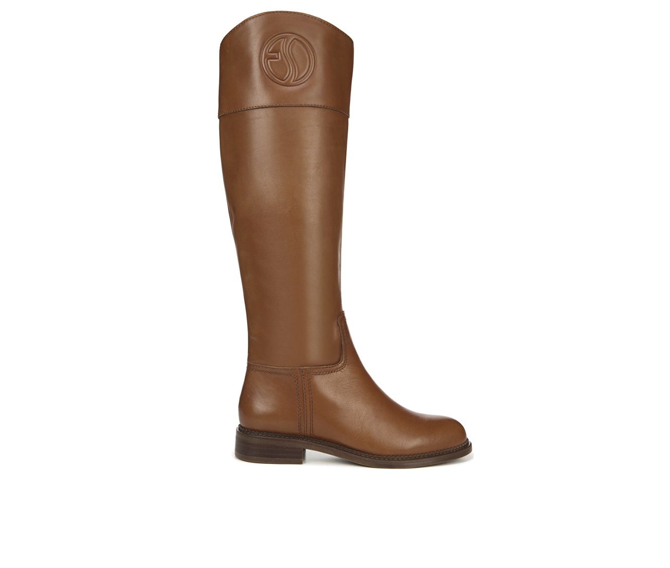 Franco Sarto Hudson Women's Boot (Brown Leather)