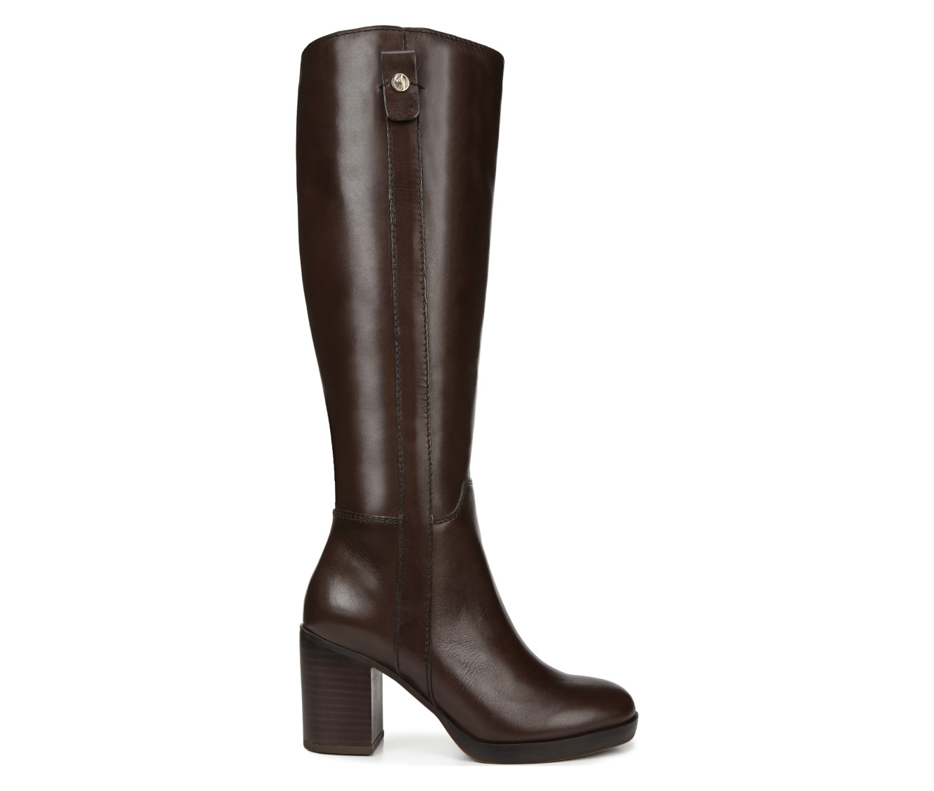 Franco Sarto Kendra Women's Boot (Brown Leather)
