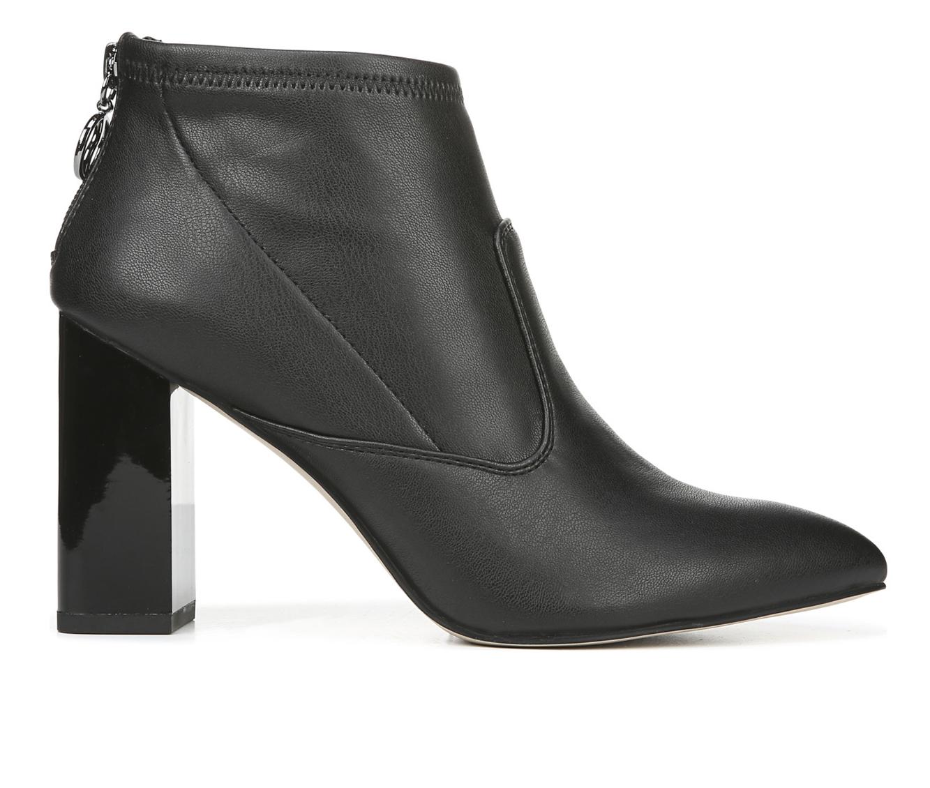 Franco Sarto Kortney Women's Boots (Black - Faux Leather)
