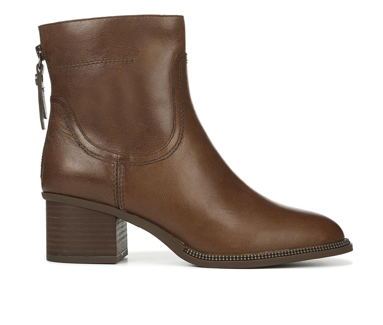 Franco Sarto Liliana Women's Boot (Brown Leather)