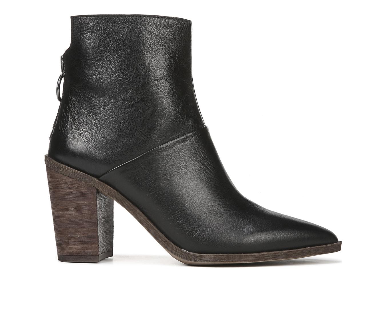 Franco Sarto Mack Women's Boot (Black Leather)