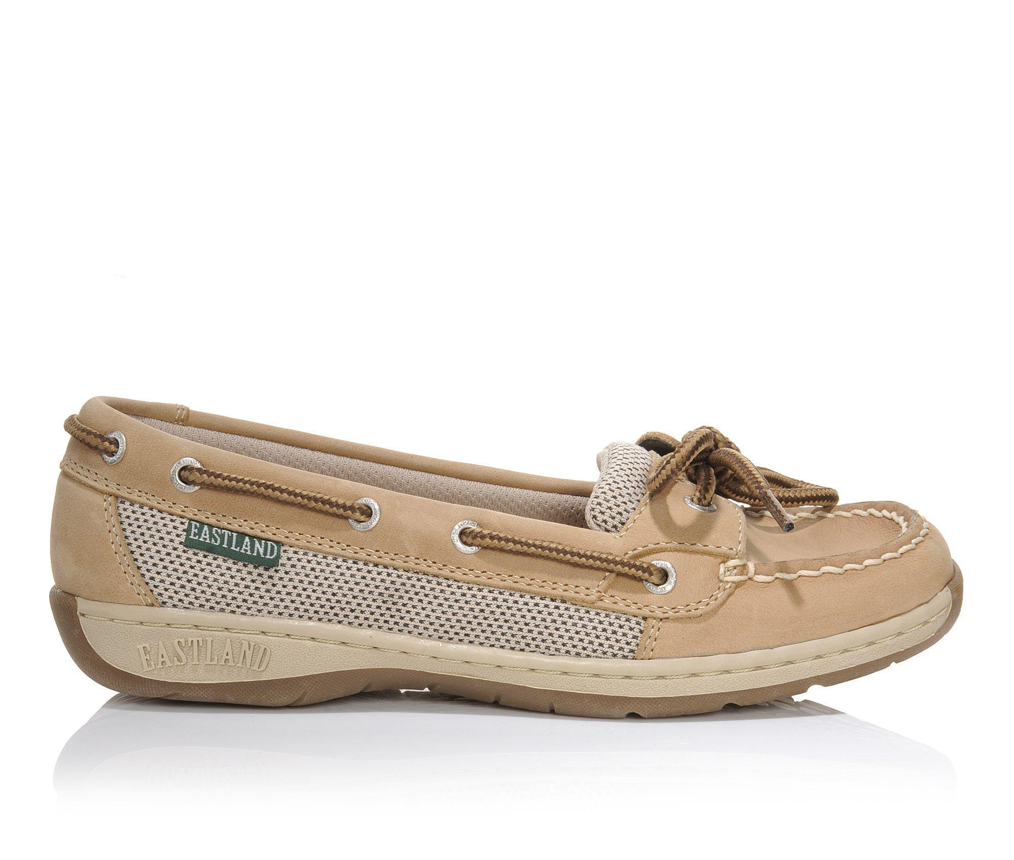 Eastland Sunrise Women's Shoe (Beige Leather)