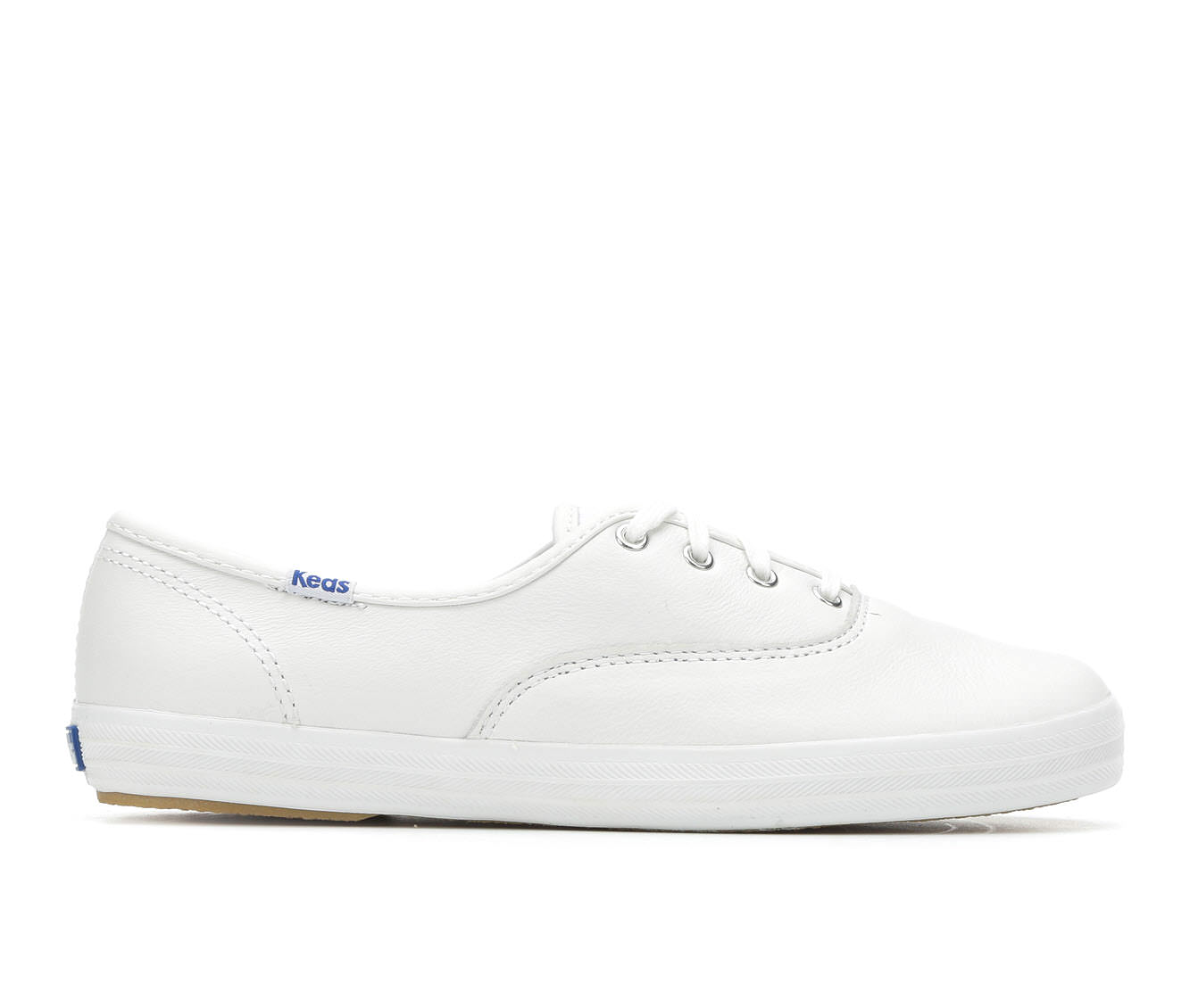 Keds Champion Leather Oxford Women's Shoe (White Leather)