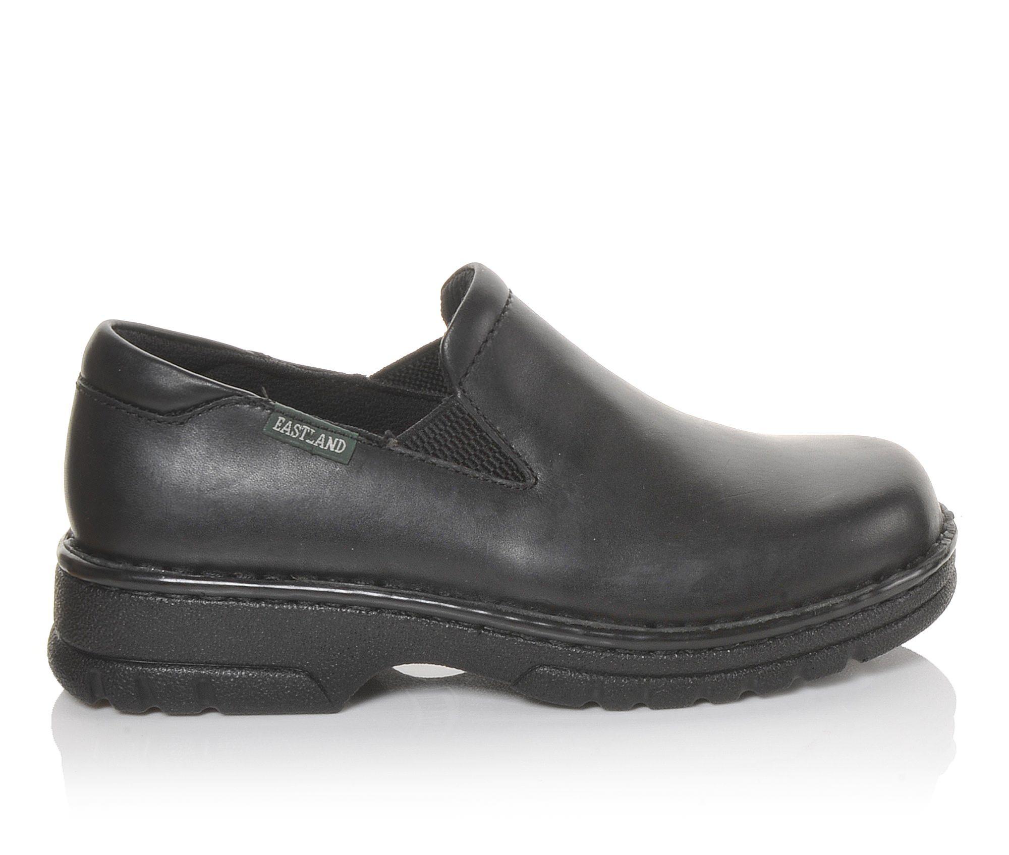 Eastland Newport Women's Shoe (Black Leather)