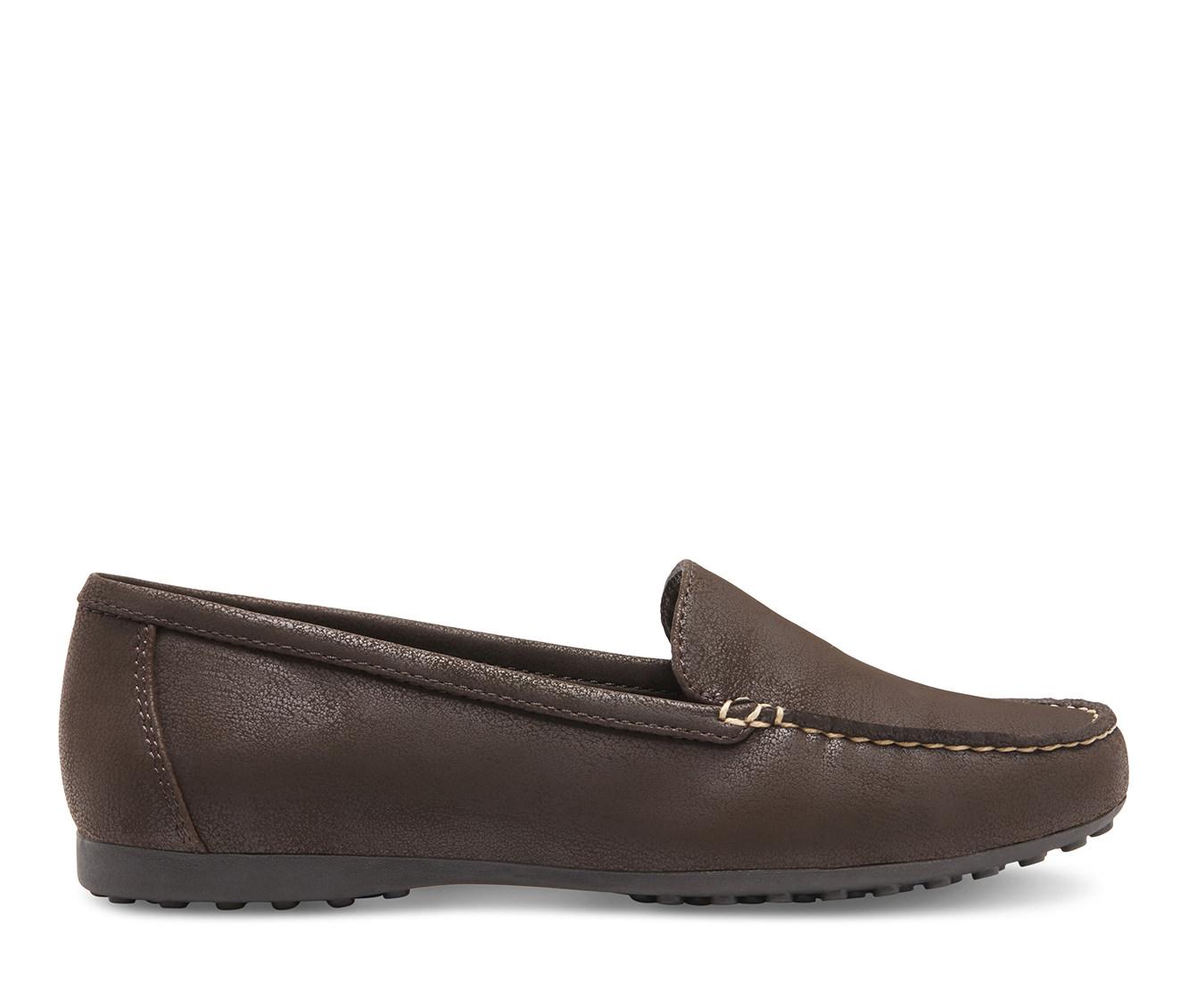 Eastland Courtney Women's Shoe (Brown Faux Leather)