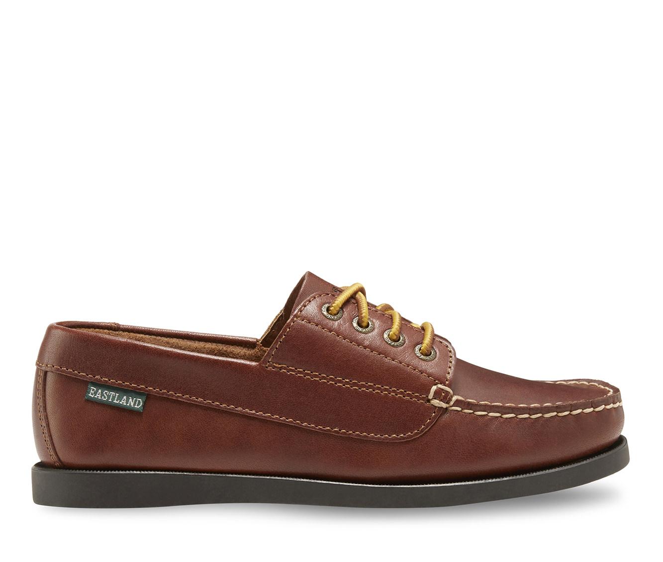 Eastland Falmouth Women's Shoe (Beige Leather)