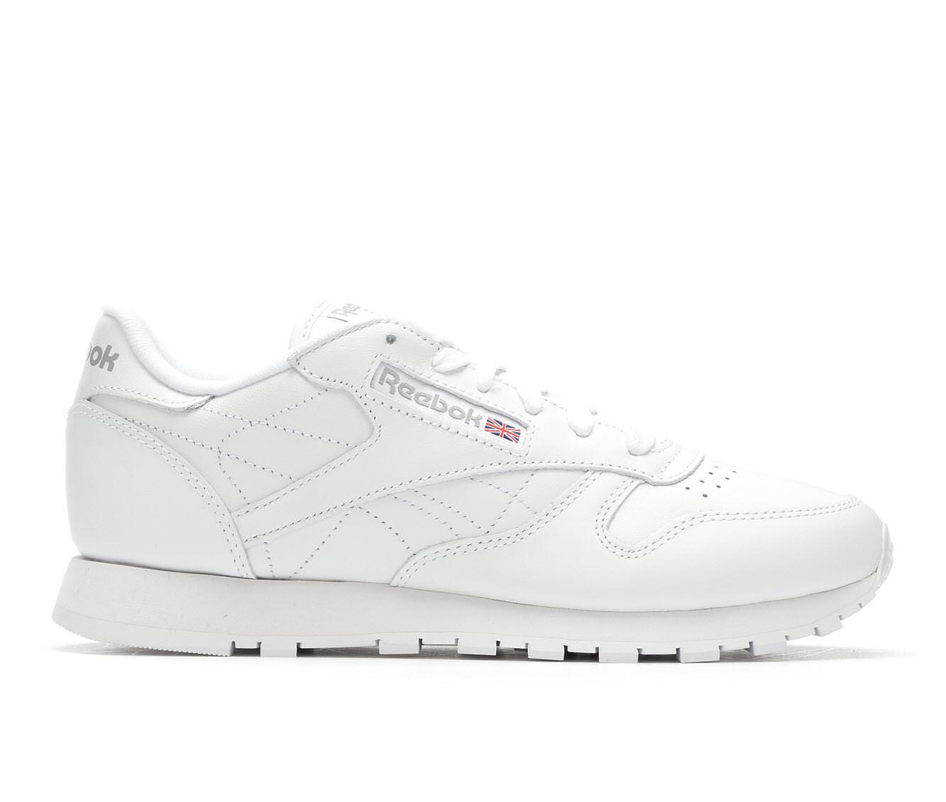 Reebok Classic Leather Jog Women's Athletic Shoe (White)