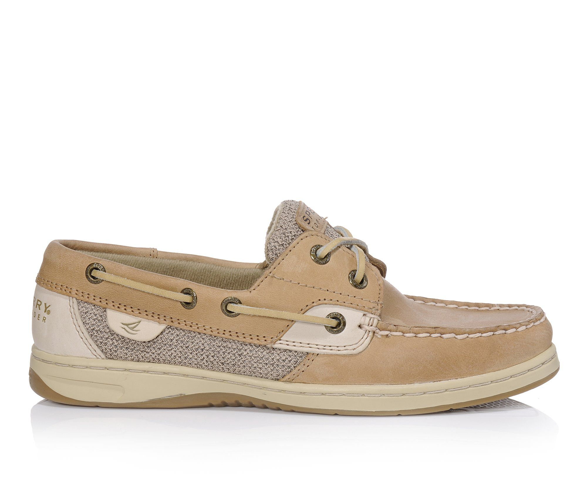 Sperry Bluefish Women's Shoe (Beige Leather)