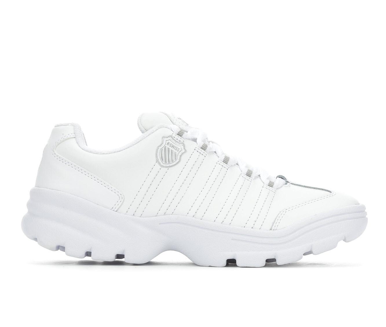 K-Swiss Altezo Women's Athletic Shoe (White Leather)