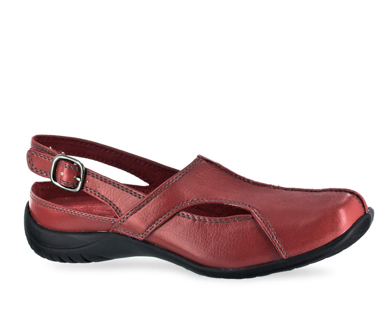 Easy Street Sportser Women's Shoe (Red Faux Leather)