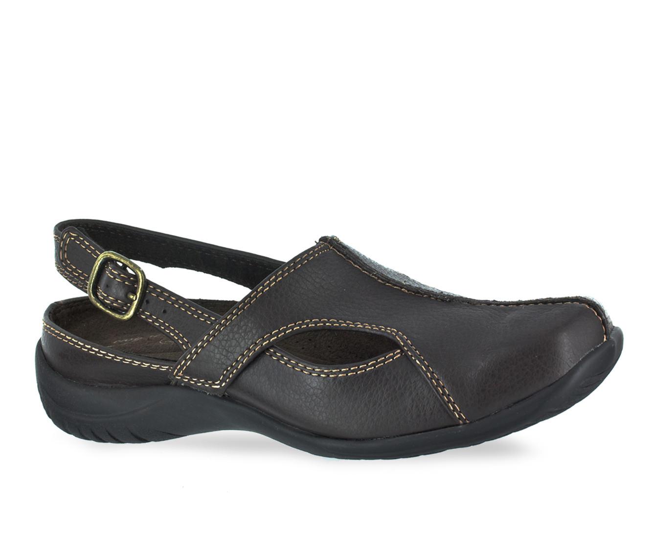 Easy Street Sportser Women's Shoe (Brown Faux Leather)