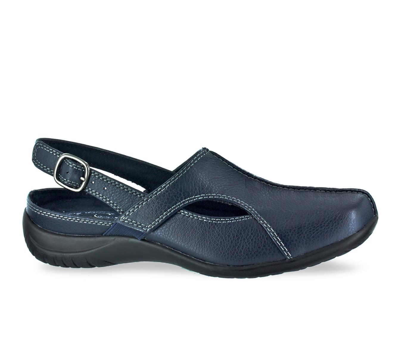 Easy Street Sportser Women's Shoe (Blue Faux Leather)