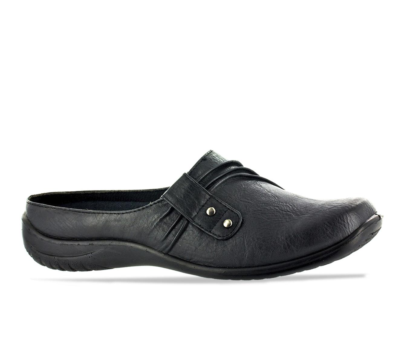 Easy Street Holly Women's Shoe (Black Faux Leather)