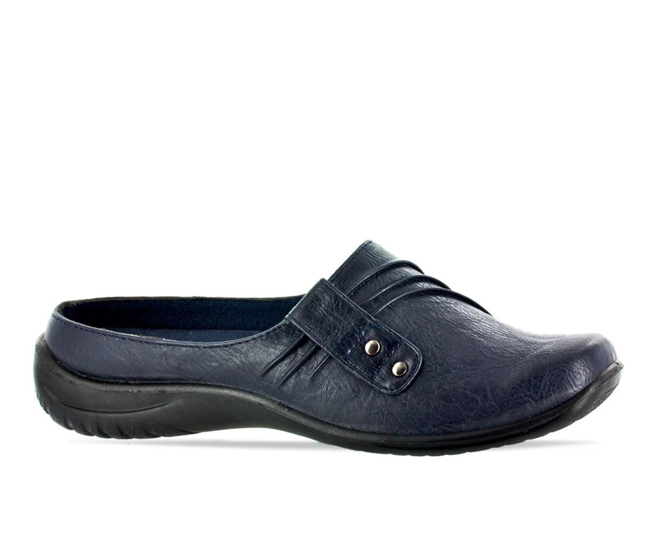 Easy Street Holly Women's Shoe (Blue Faux Leather)
