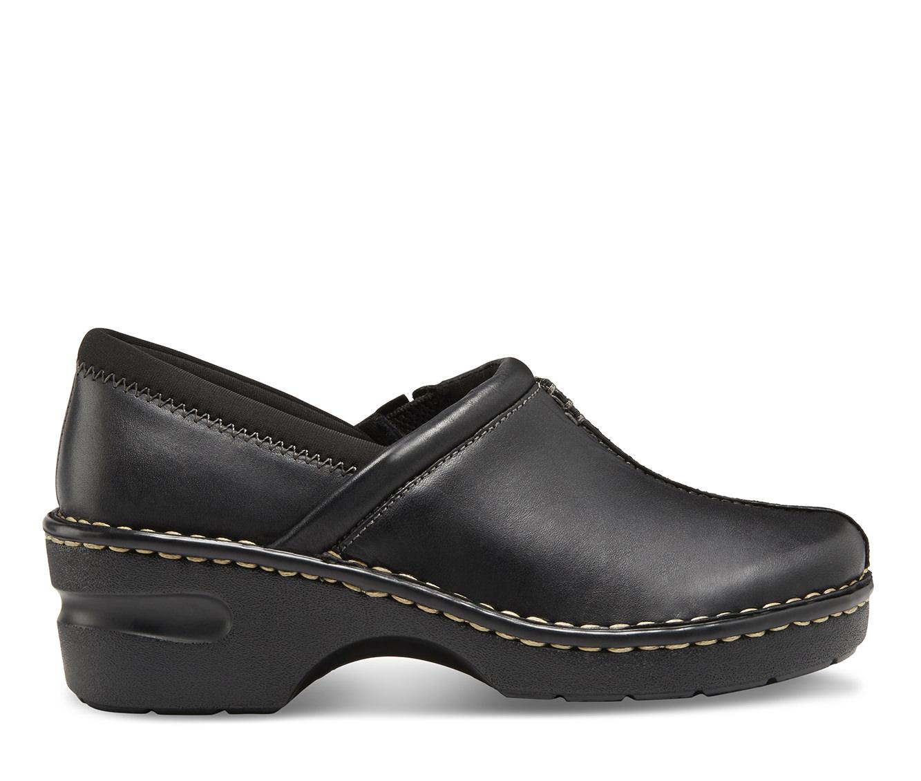 Eastland Kelsey Women's Shoe (Black Leather)