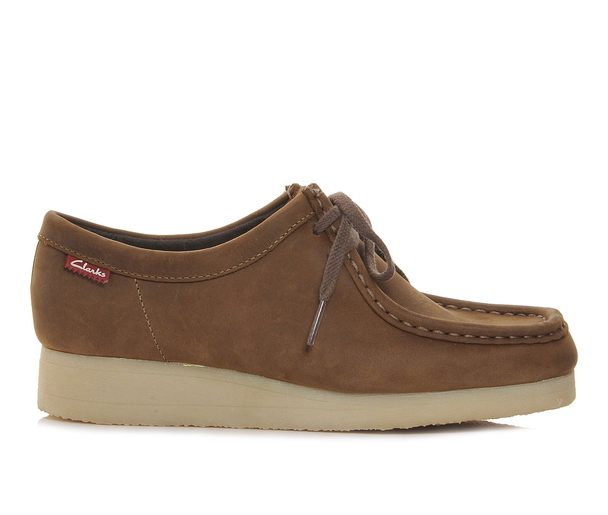Clarks Padmore Women's Shoe (Brown Leather)