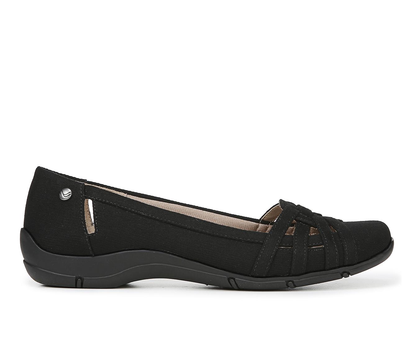 LifeStride Diverse Women's Shoe (Black Canvas)