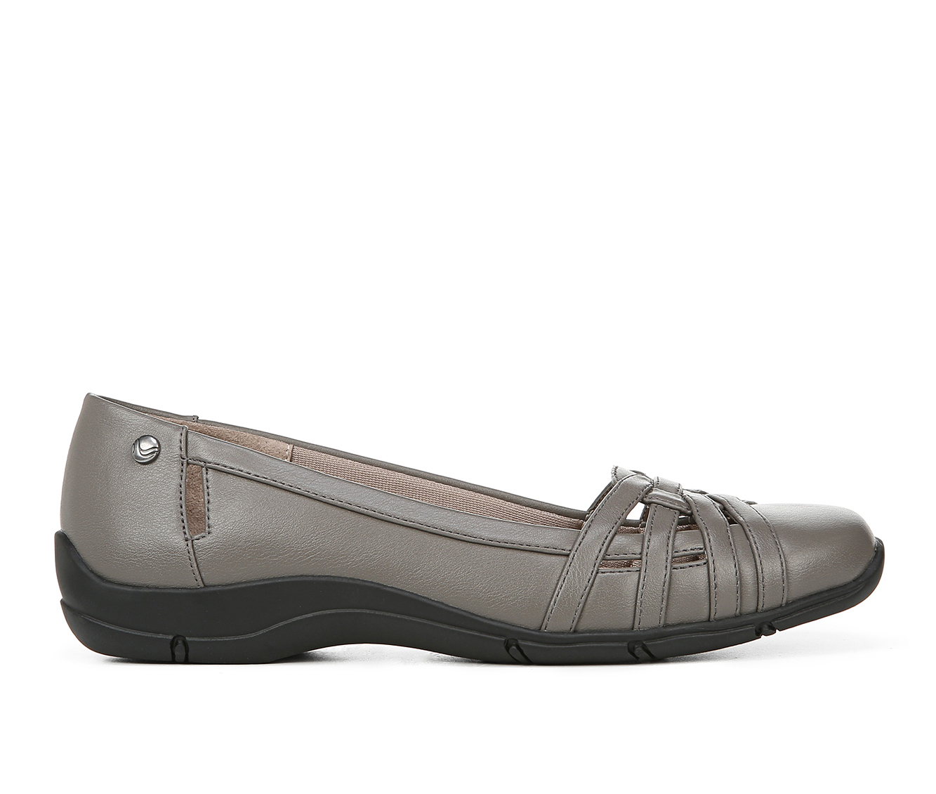 LifeStride Diverse Women's Shoe (Gray Faux Leather)