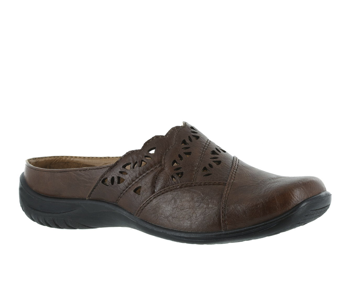 Easy Street Forever Women's Shoe (Brown Faux Leather)