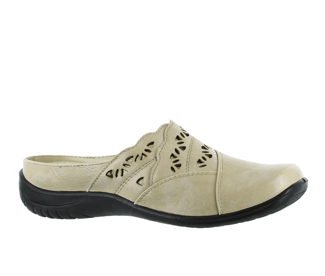 Easy Street Forever Women's Shoe (Beige Faux Leather)