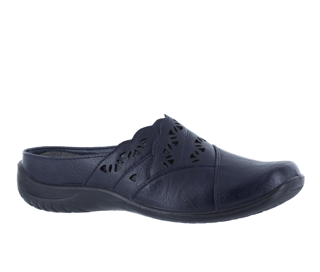 Easy Street Forever Women's Shoe (Blue Faux Leather)