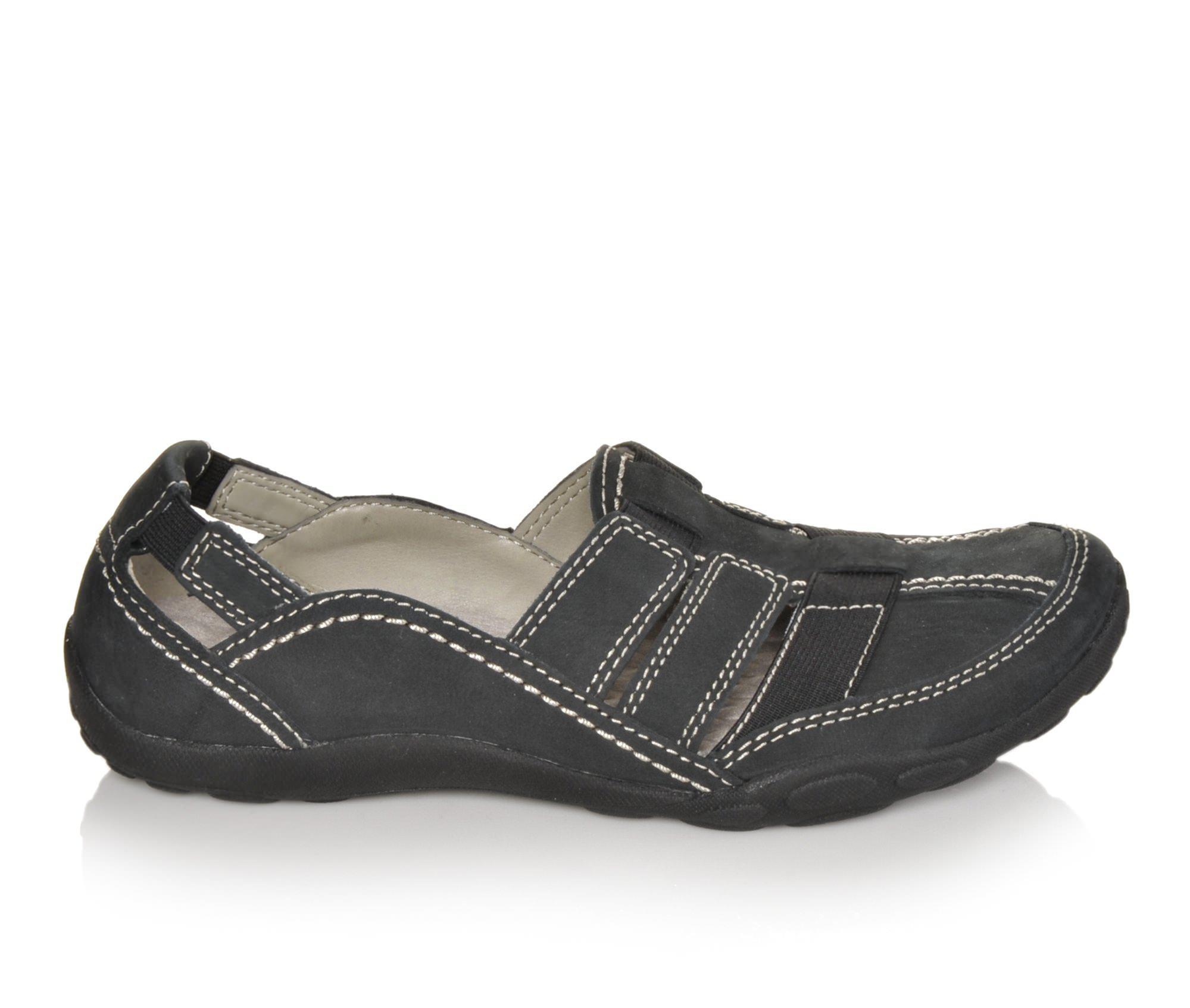Clarks Haley Stork Women's Shoe (Black Leather)