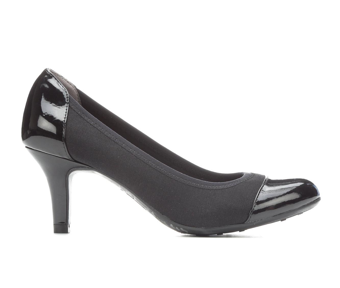 LifeStride Parigi Women's Dress Shoe (Black Faux Leather)