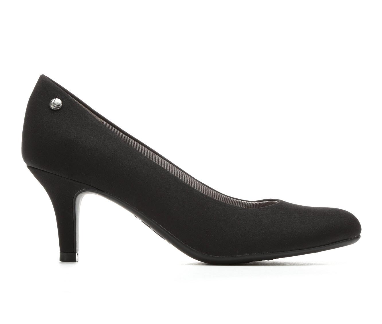 LifeStride Parigi Women's Dress Shoe (Black Canvas)