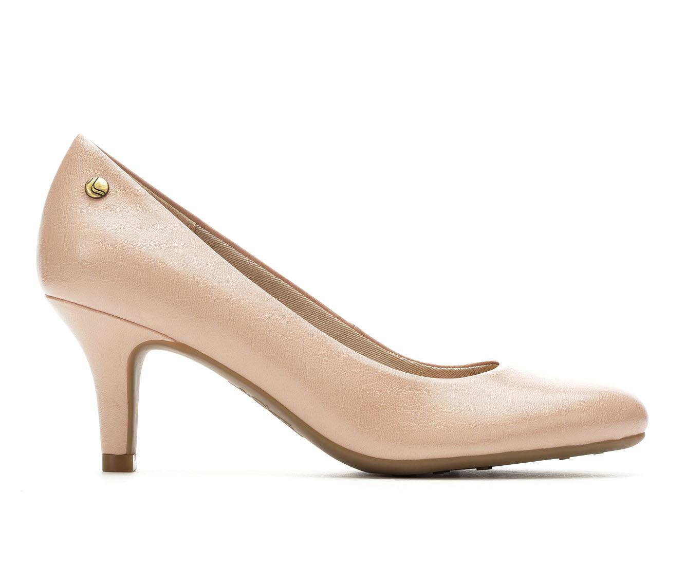 LifeStride Parigi Women's Dress Shoe (Pink Faux Leather)