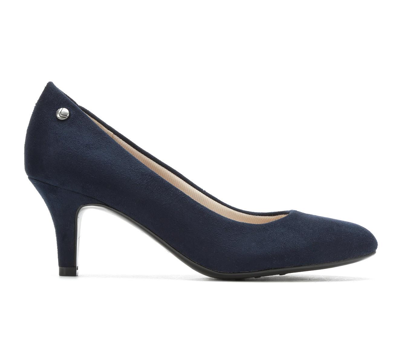 LifeStride Parigi Women's Dress Shoe (Blue Canvas)