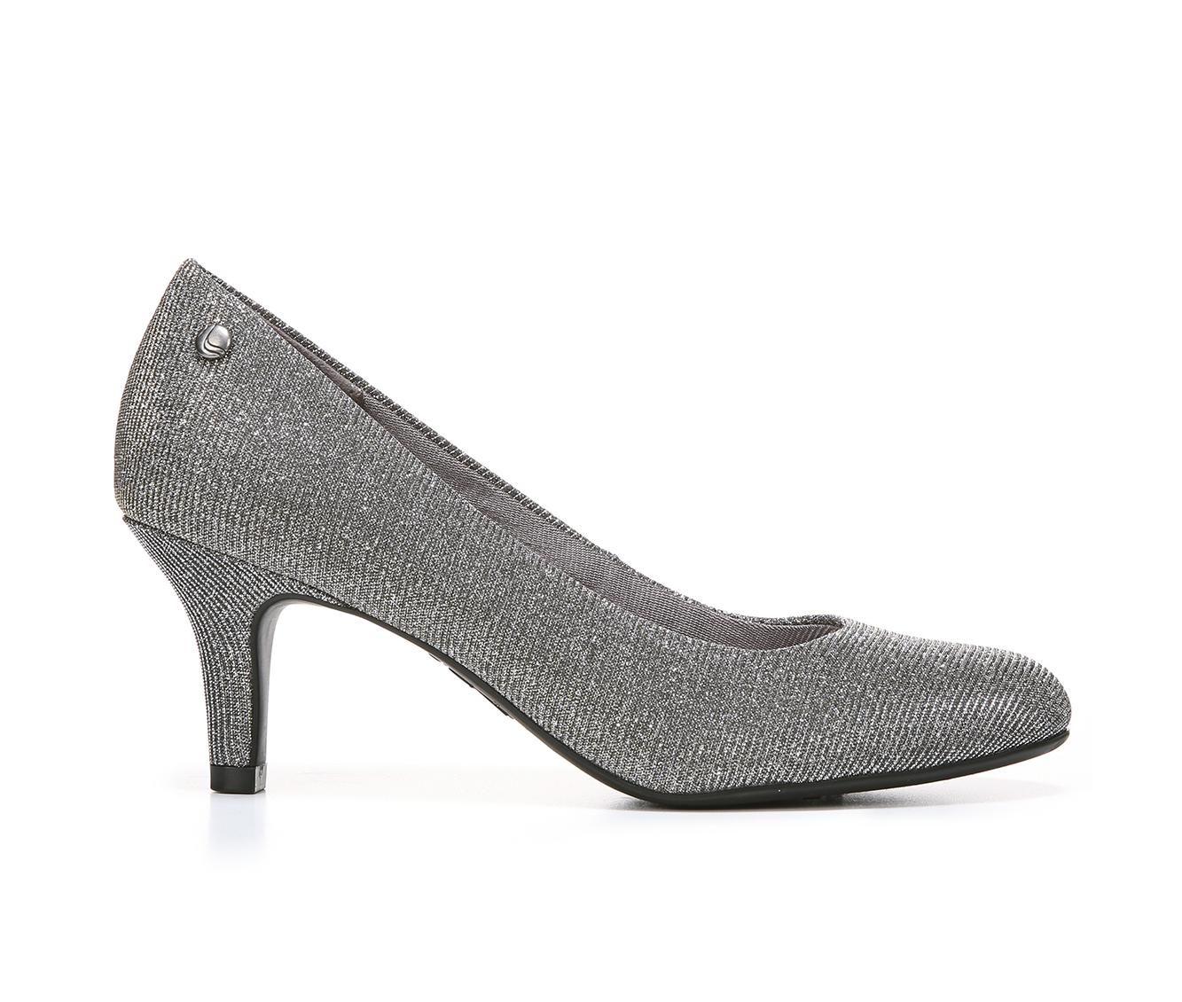 LifeStride Parigi Women's Dress Shoe (Silver Canvas)