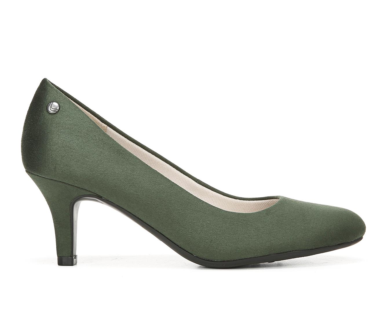 LifeStride Parigi Women's Dress Shoe (Green Canvas)