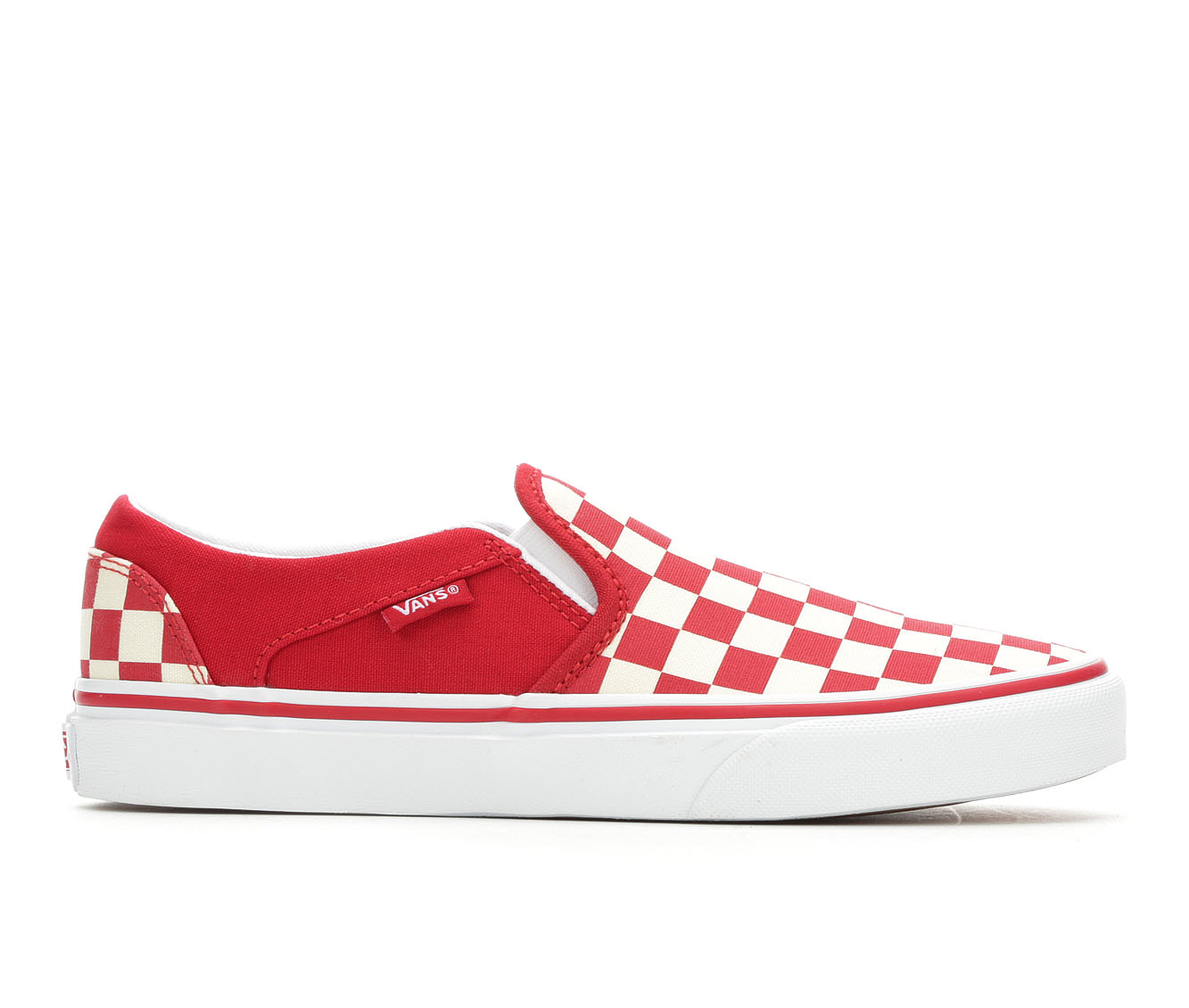 Vans Asher Women's Athletic Shoe (Red)