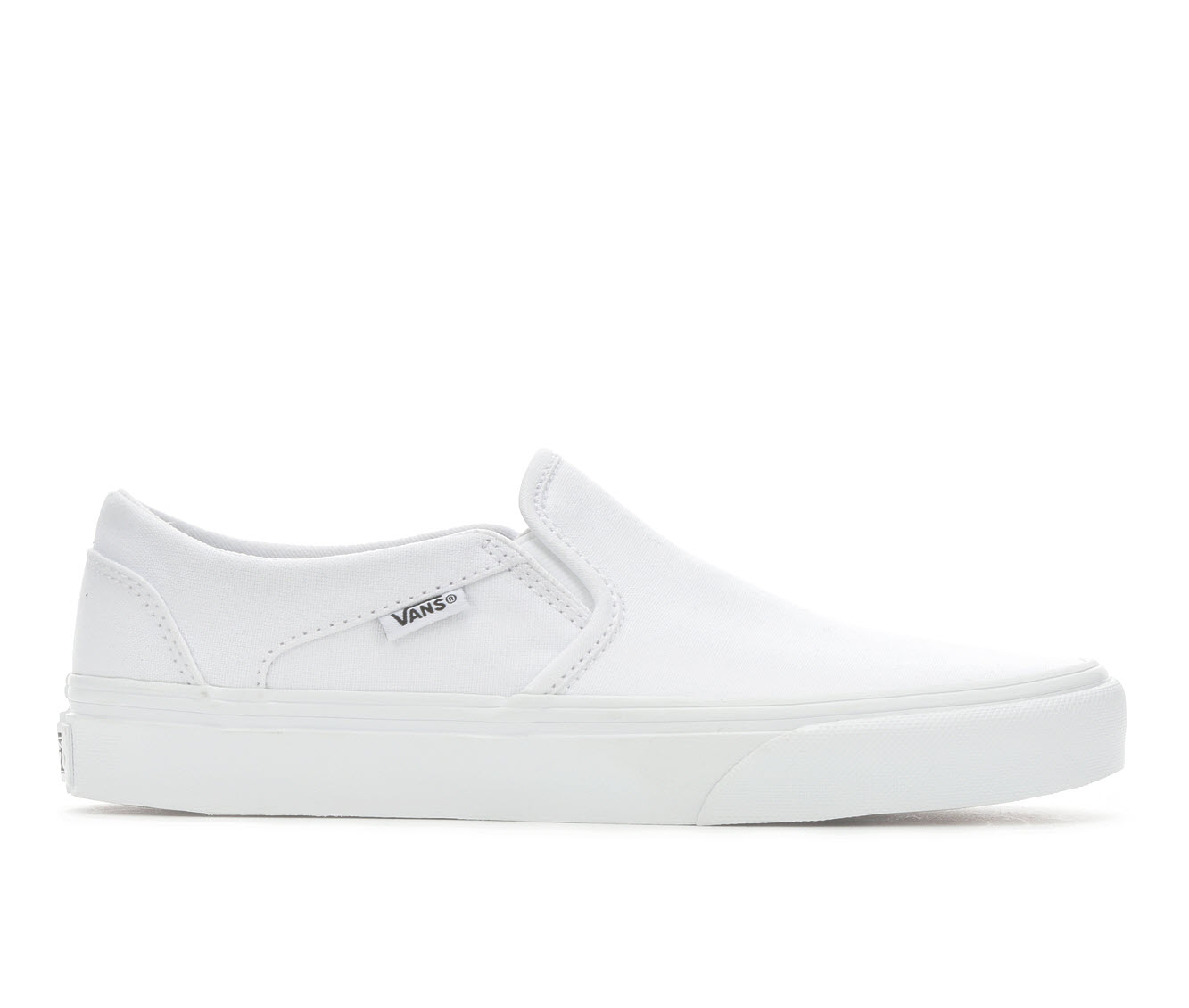 Vans Asher Women's Athletic Shoe (White)