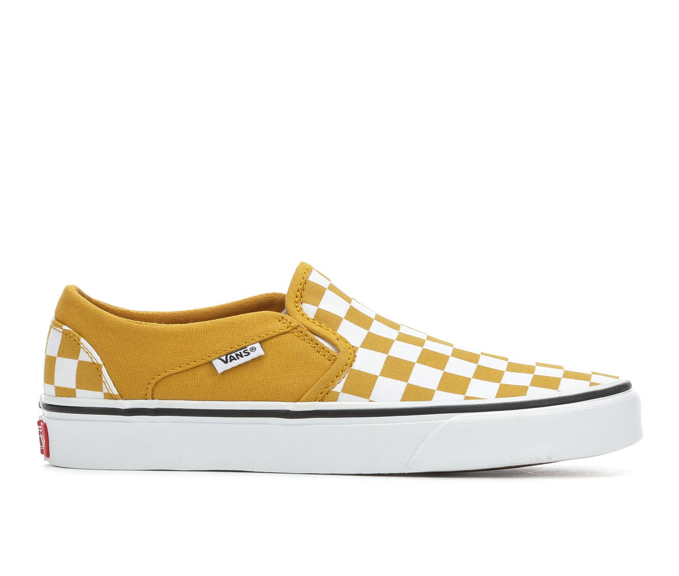Vans Asher Women's Athletic Shoe (Yellow)