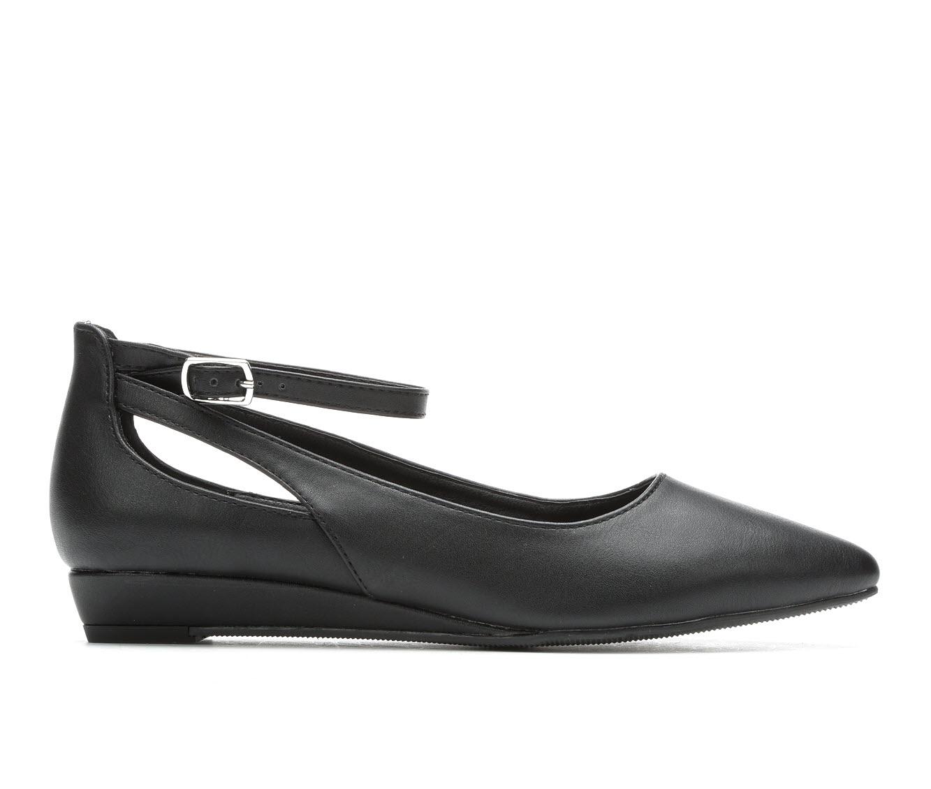Y-Not Hadley Women's Shoe (Black Faux Leather)
