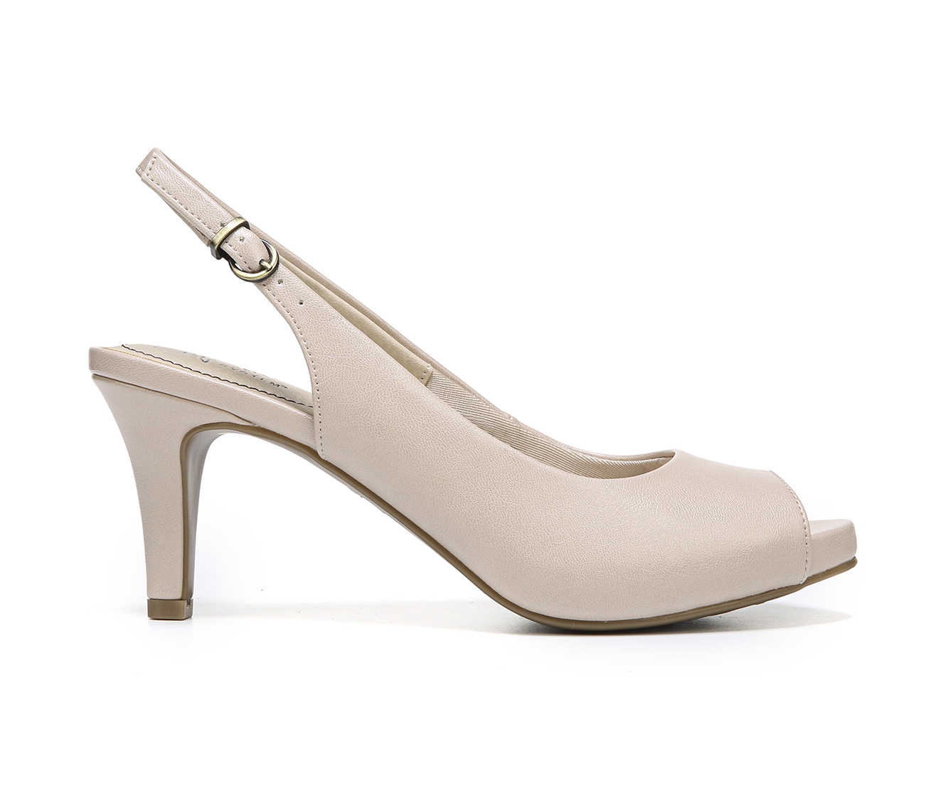 LifeStride Teller Women's Dress Shoe (Pink Faux Leather)