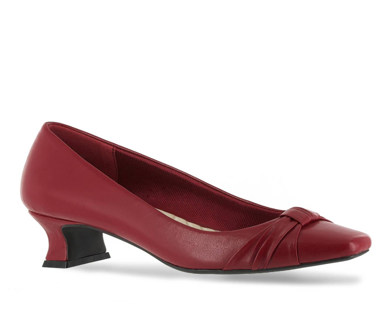 Easy Street Waive Women's Dress Shoe (Brown Faux Leather)