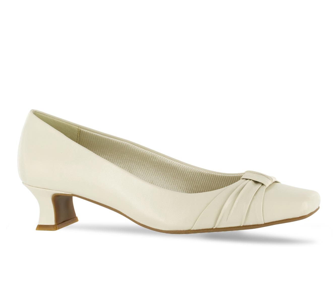 Easy Street Waive Women's Dress Shoe (White Faux Leather)