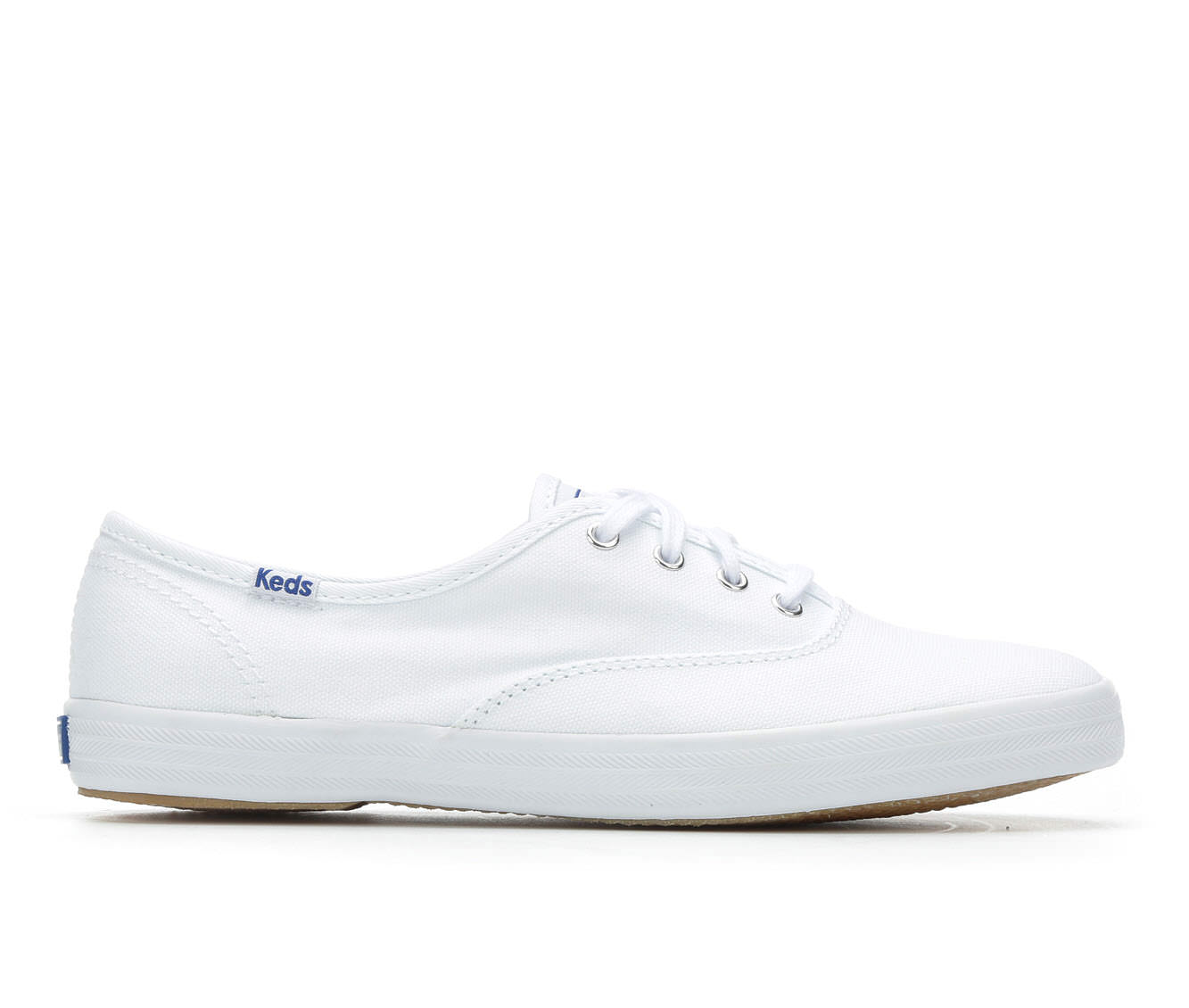 Keds Champion Canvas Women's Shoe (White Canvas)