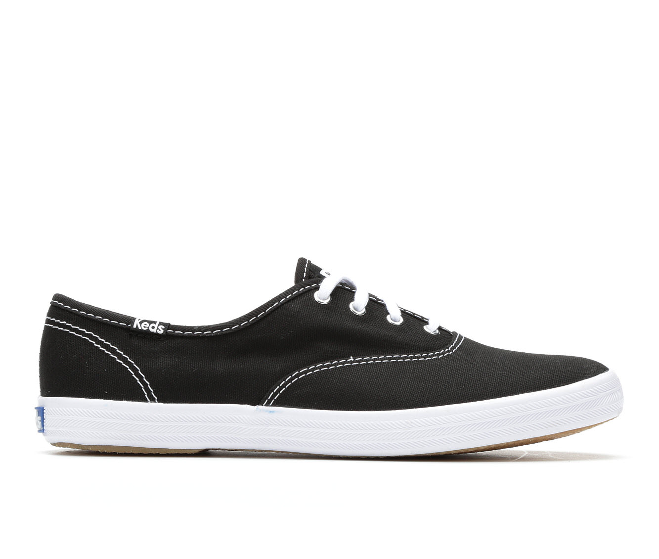 Keds Champion Canvas Women's Shoe (Black Canvas)