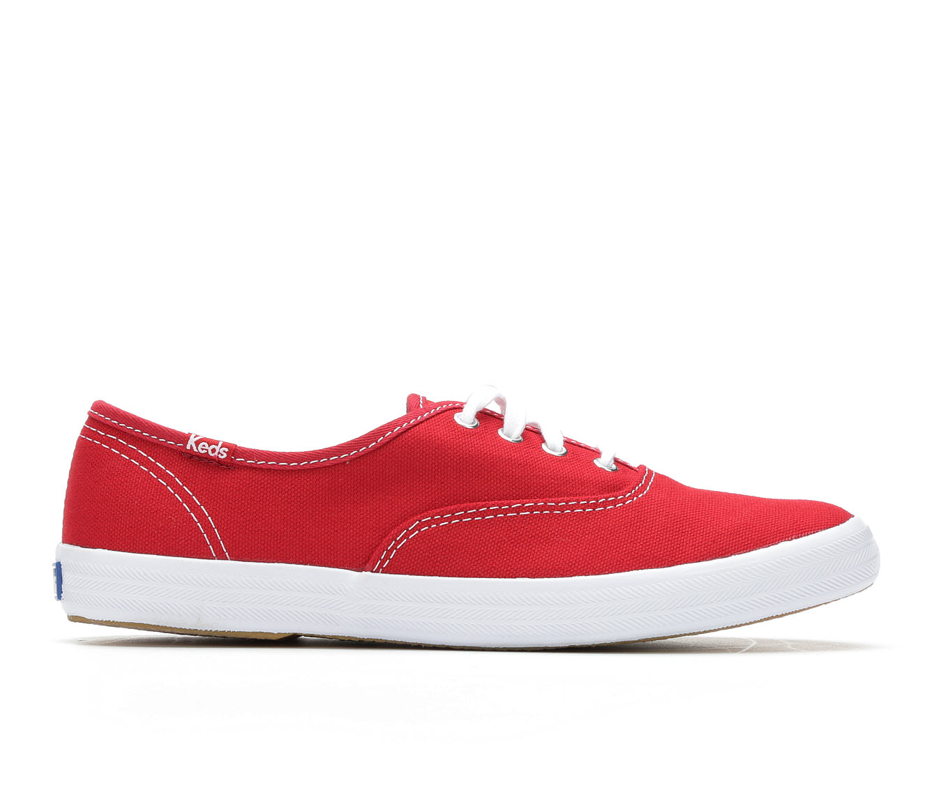 Keds Champion Canvas Women's Shoe (Red Canvas)