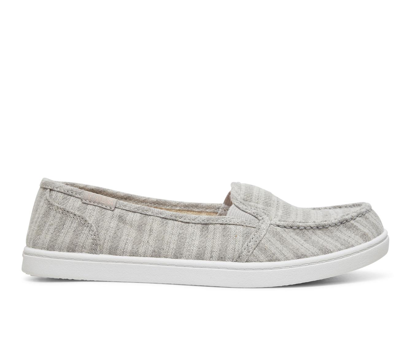Roxy Minnow V Women's Shoe (Gray Canvas)