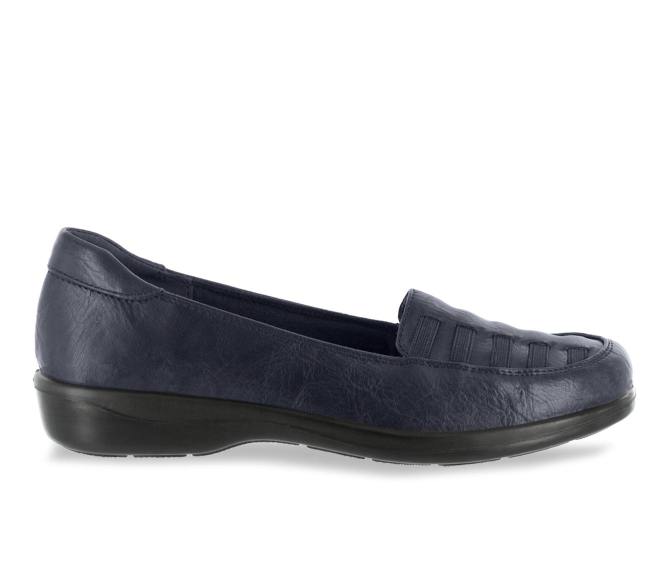 Easy Street Genesis Women's Shoe (Blue Faux Leather)